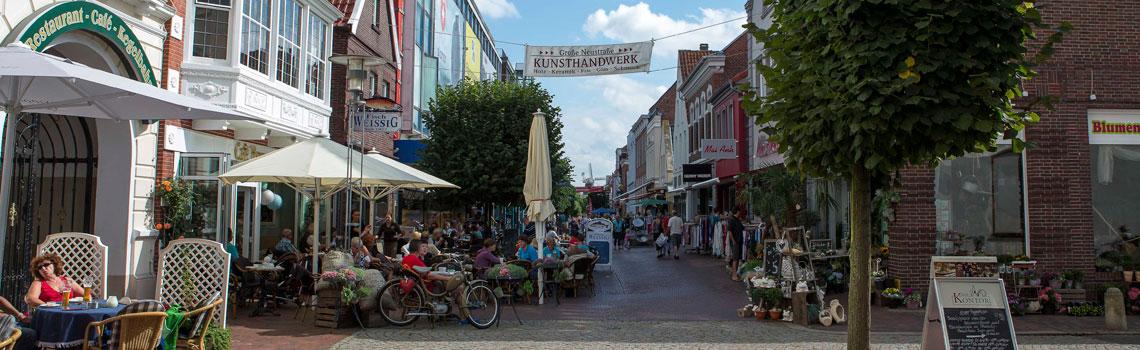 Shopping in Norddeich